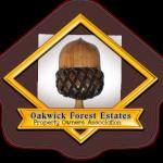 Oakwick Forest Estates POA Meeting Agenda - June 29,2015